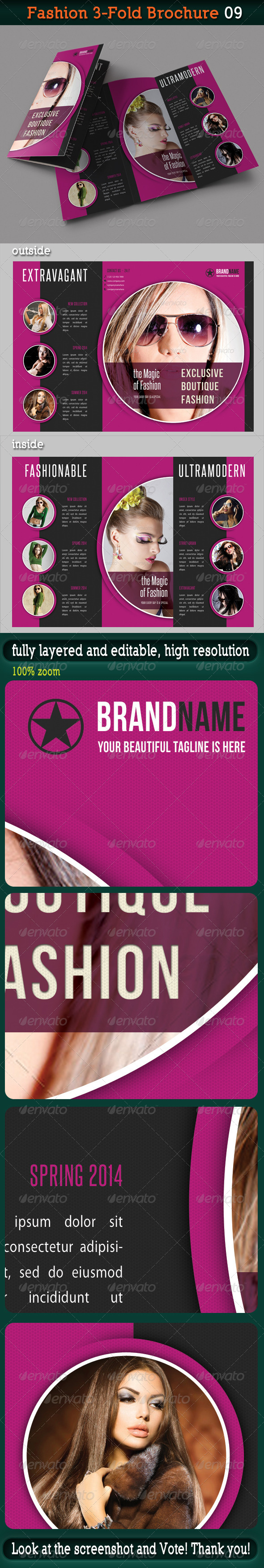 GraphicRiver Fashion 3-Fold Brochure 09 6304395