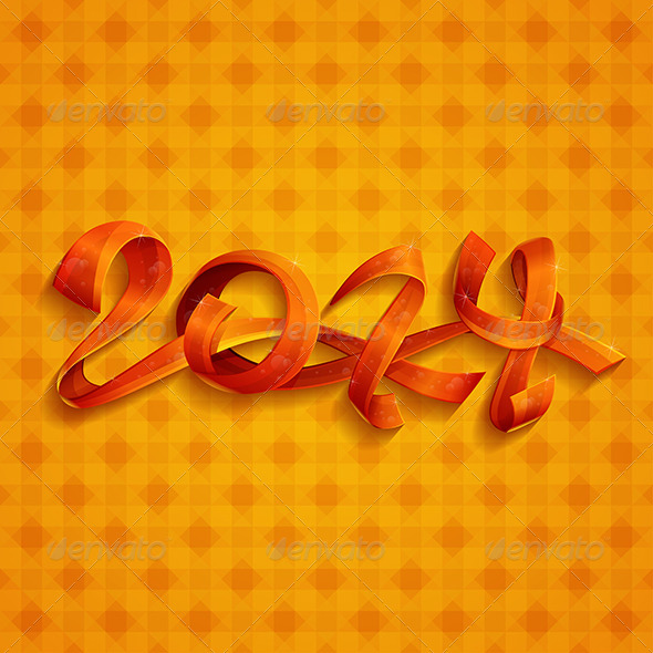 GraphicRiver New Year Ribbons 6304491