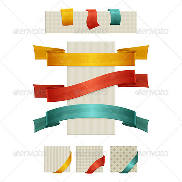 GraphicRiver Ribbons 6304670