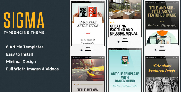 6 Best Mobile Templates & Themes for iPhone/iPod You Should Download Now 6