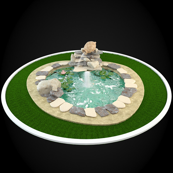 3DOcean Fountain 054 6304822