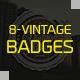 Retro Vintage Badges - GraphicRiver Item for Sale