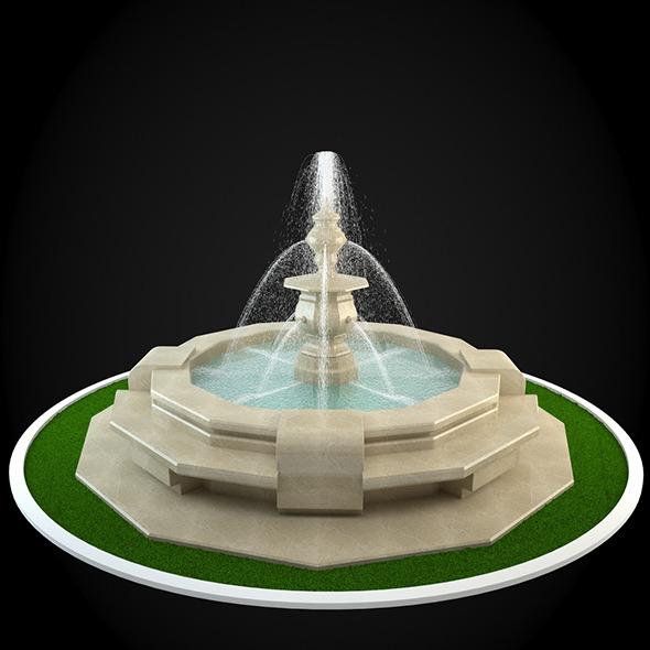 3DOcean Fountain 059 6305305