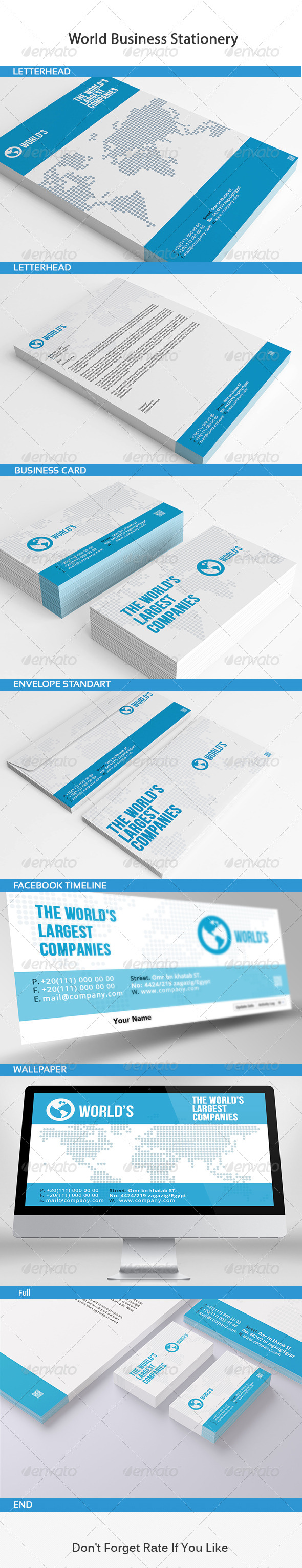 GraphicRiver World Business Stationery 6305385