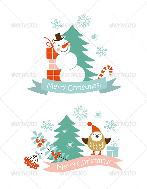 GraphicRiver Christmas Graphic Elements 6305896