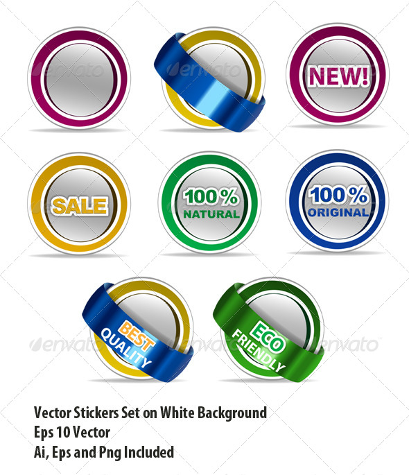 GraphicRiver Stickers 6306155