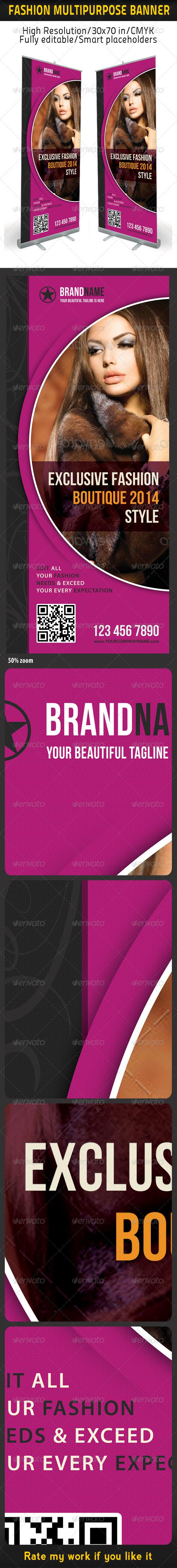 Fashion Multipurpose Banner Template 19 - Signage Print Templates