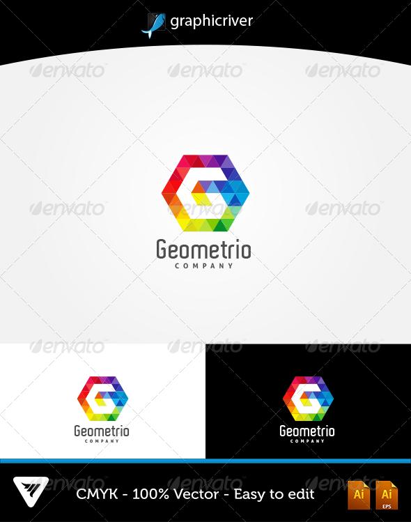 GraphicRiver Geometrio Logo 6306685