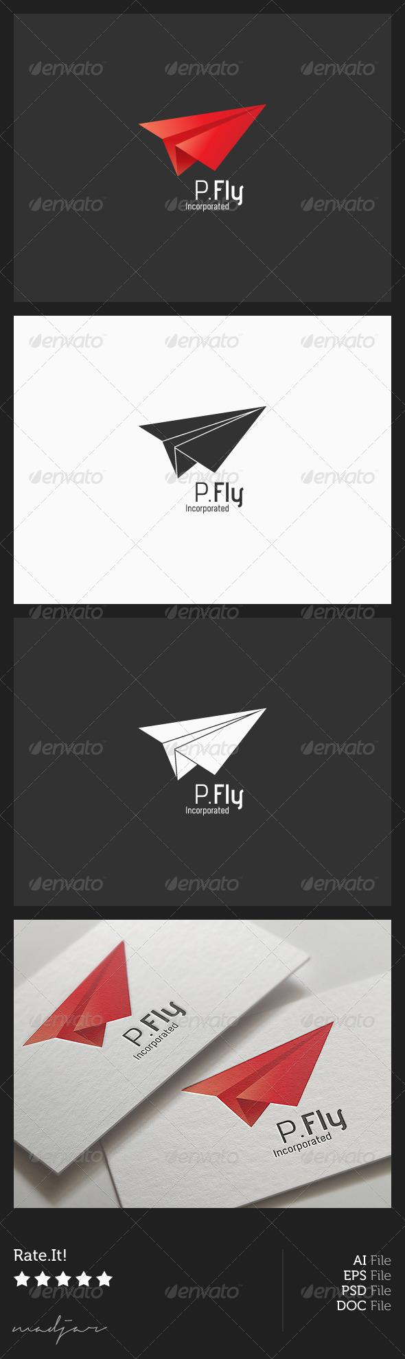 GraphicRiver Paper Plane Logo 6306953