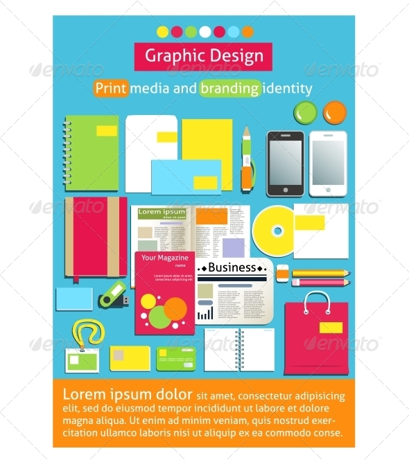 GraphicRiver Graphic Design Print Media and Branding Identity 6307010