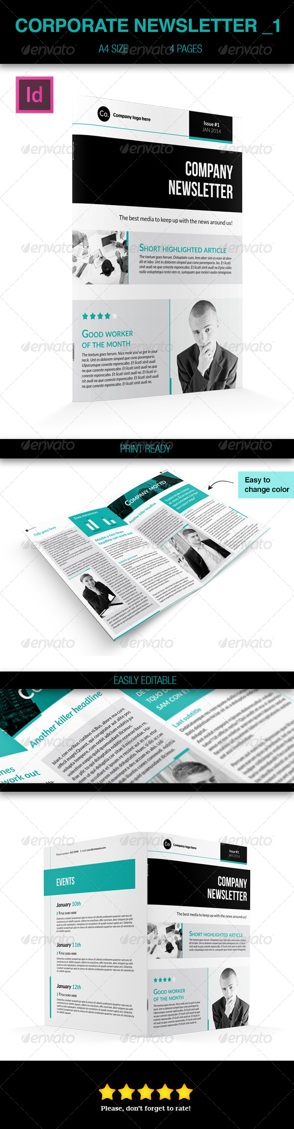 GraphicRiver Corporate Business Newsletter 1 6265626