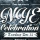 NYE Celebration - Flyer - GraphicRiver Item for Sale