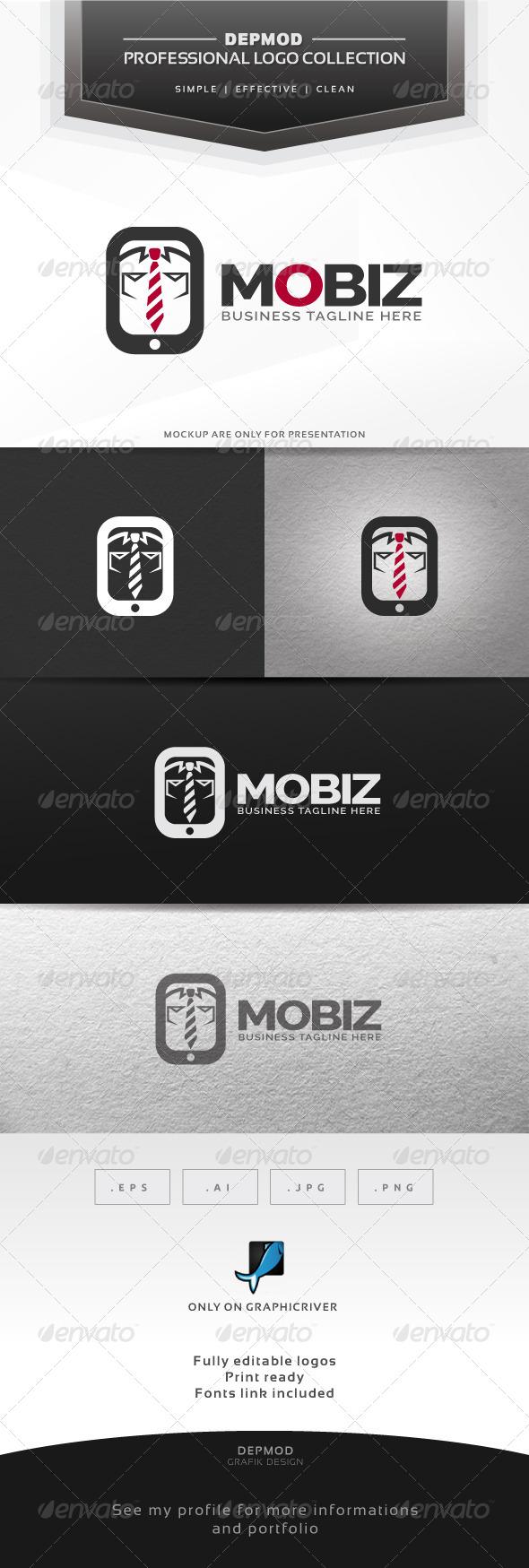 GraphicRiver Mobiz Logo 6307834