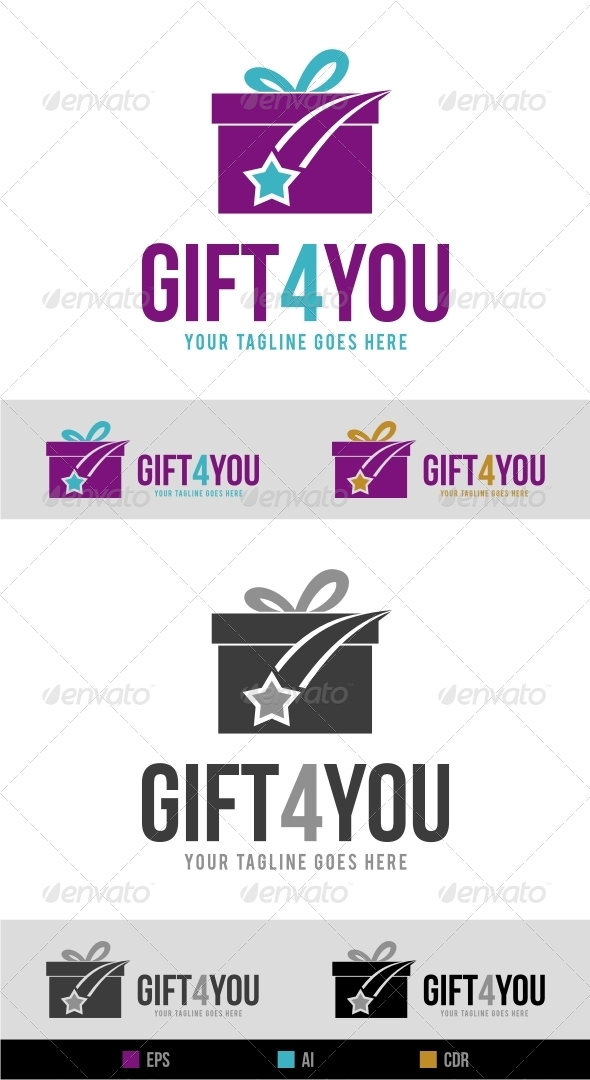 GraphicRiver Gift Shop Logo 6307871
