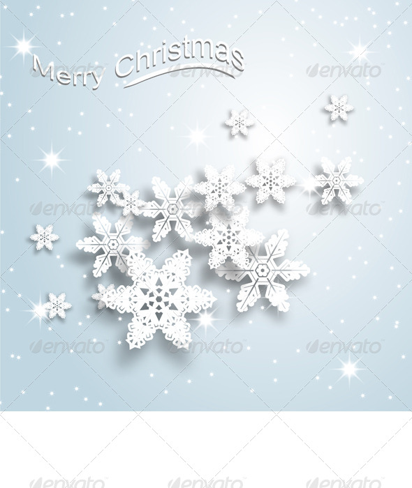 GraphicRiver Christmas Background 6308844