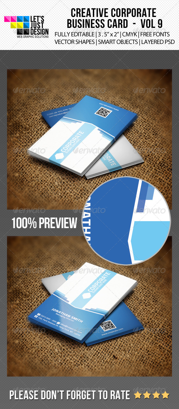 GraphicRiver Corporate Business Card Vol 9 6310038
