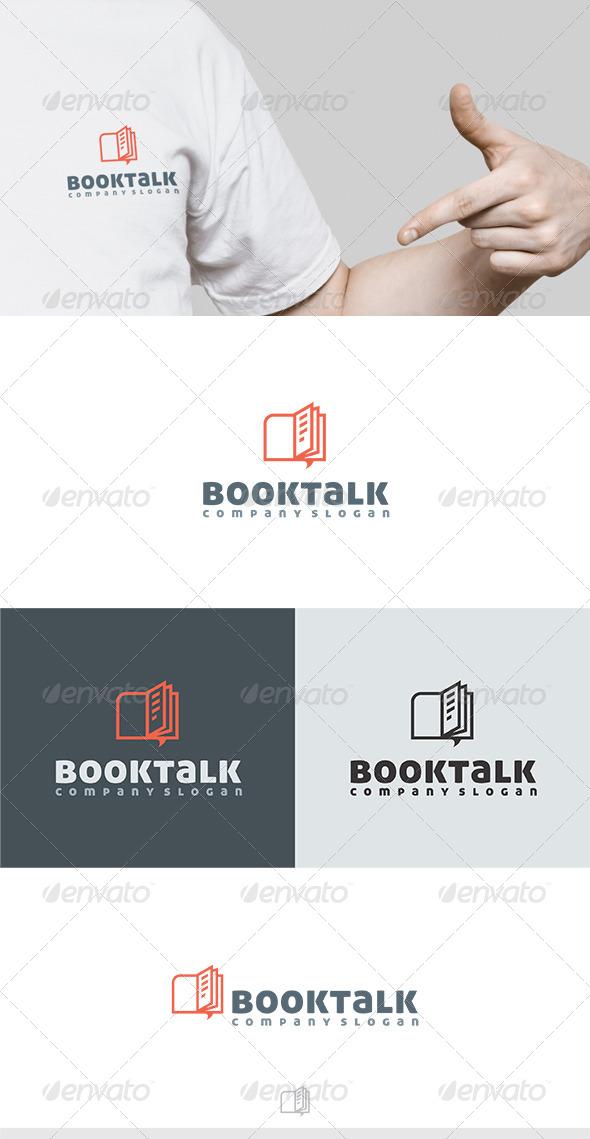 GraphicRiver Booktalk Logo 6310105