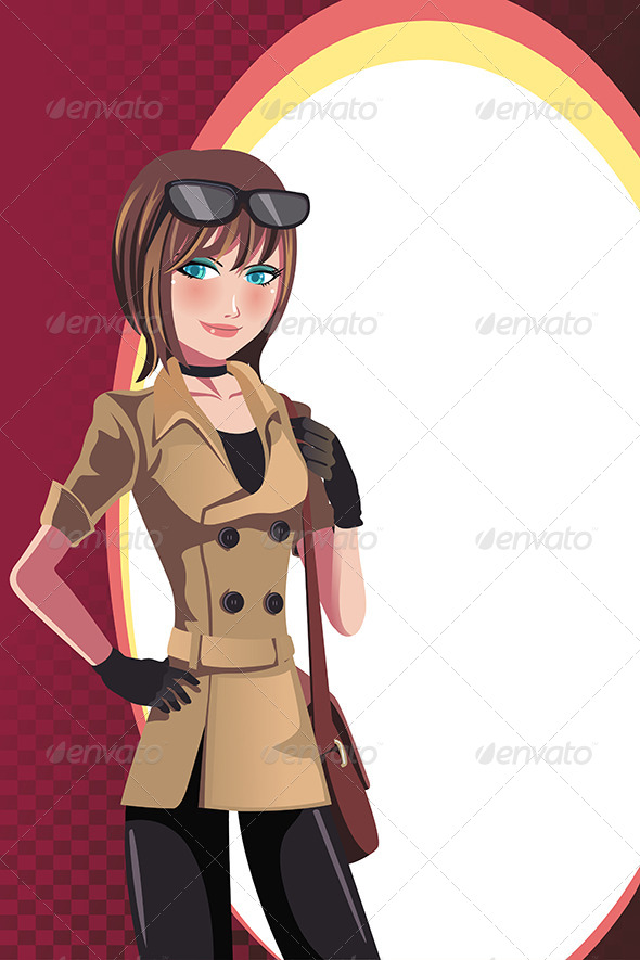 GraphicRiver Girl 6311189