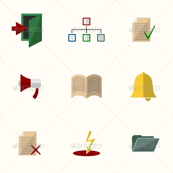 GraphicRiver Universal Flat Icons 6311205