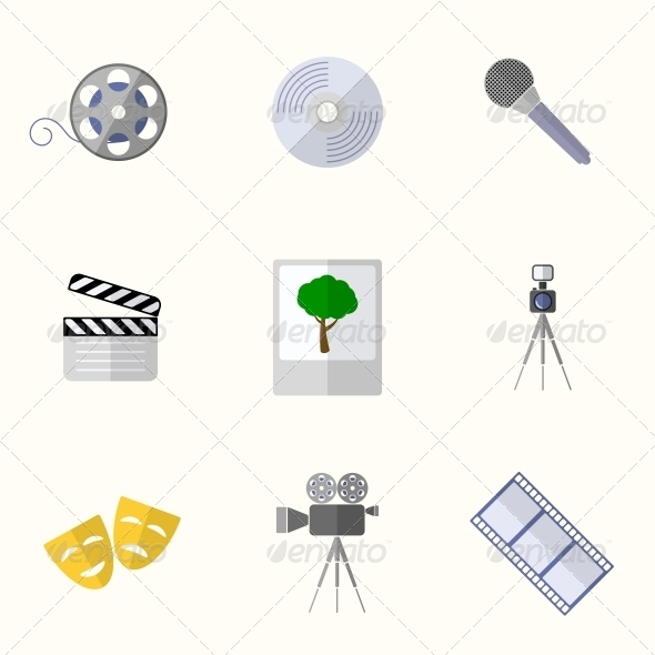 GraphicRiver Universal Flat Icons 6311211