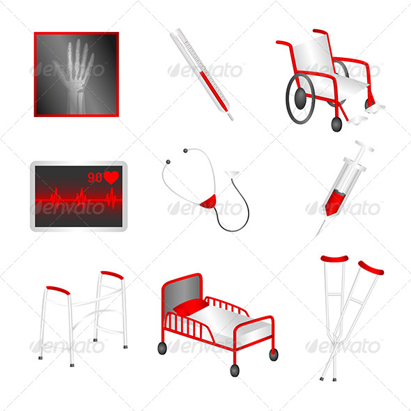 GraphicRiver Medical Icons 6311215