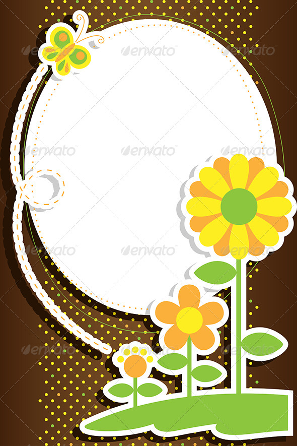 GraphicRiver Flowers Background 6311216