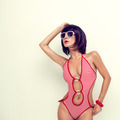 Portrait of a girl in fashionable swimsuit - PhotoDune Item for Sale