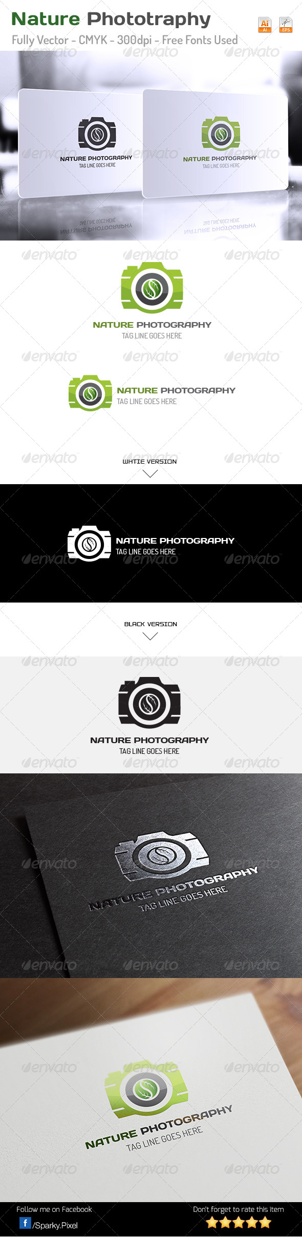 GraphicRiver Nature Photography Logo 6313114