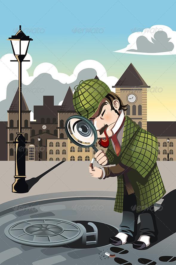 Man Exploring