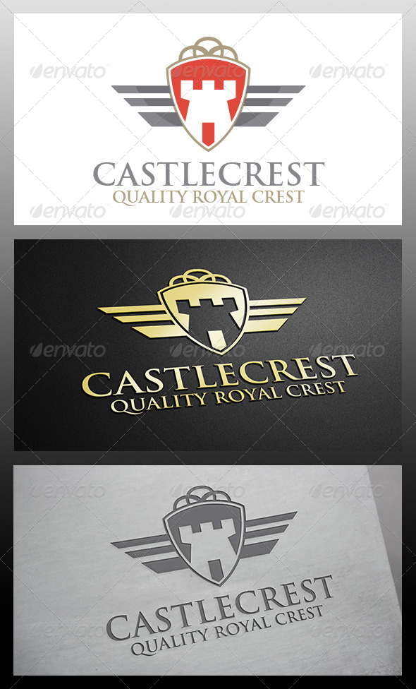 GraphicRiver Castle Crest Logo 6314297