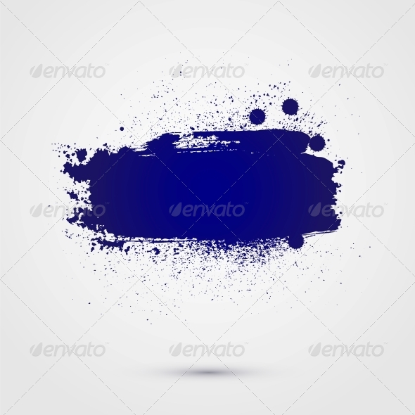 GraphicRiver Abstract Vector Background of Paint Banner 6316607