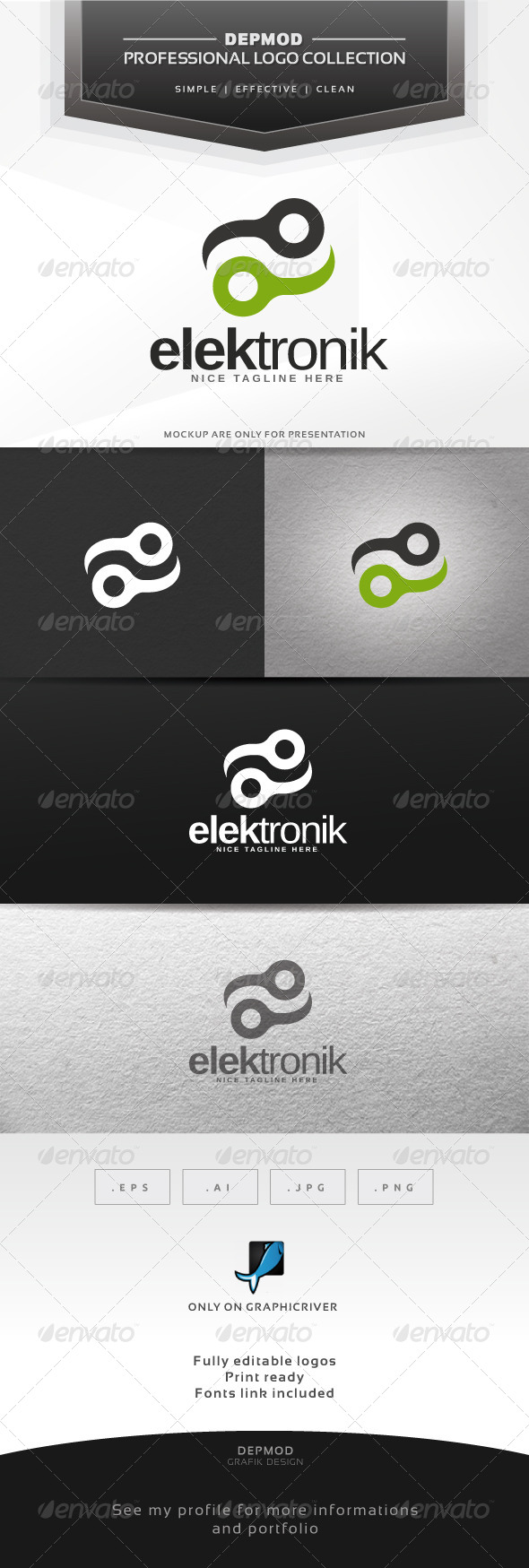 GraphicRiver Elektronik Logo 6316664