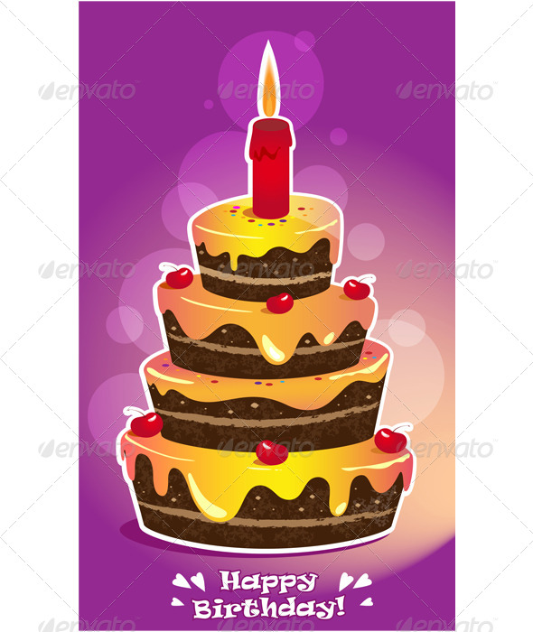 GraphicRiver Birthday Cake 6316671