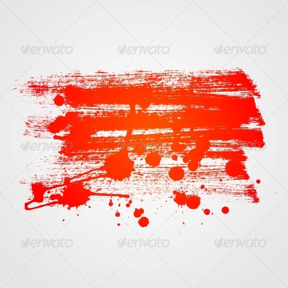 GraphicRiver Abstract Paint Banner Background 6316678