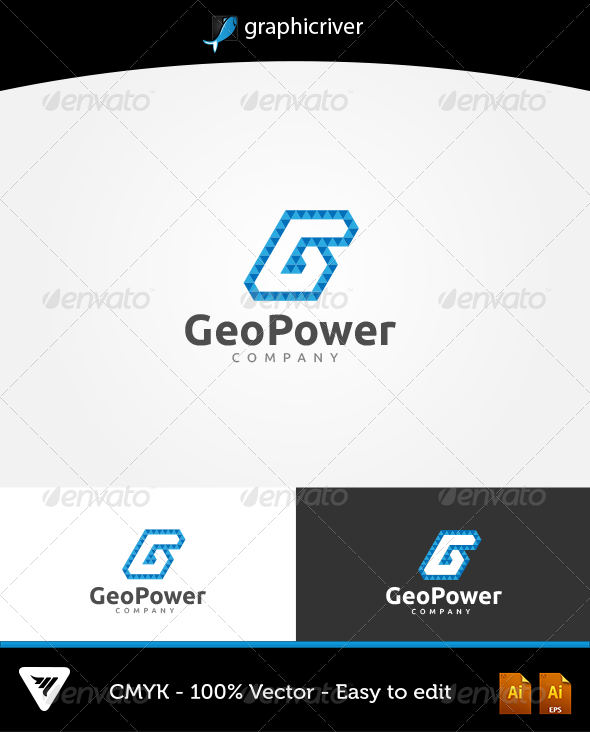 GraphicRiver GeoPower Logo 6316781