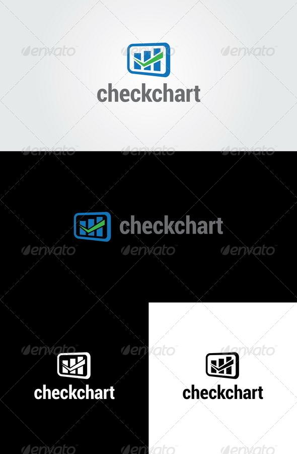 GraphicRiver Check Chart Analysis Logo Template 6317044