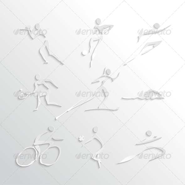 GraphicRiver Sports Icons Collection 6317051