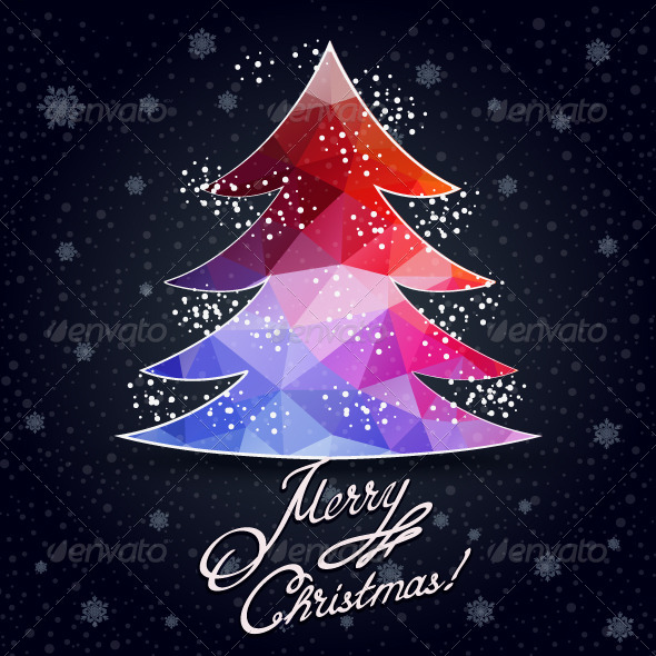 GraphicRiver Greeting Card with Winter Holidays 6317080
