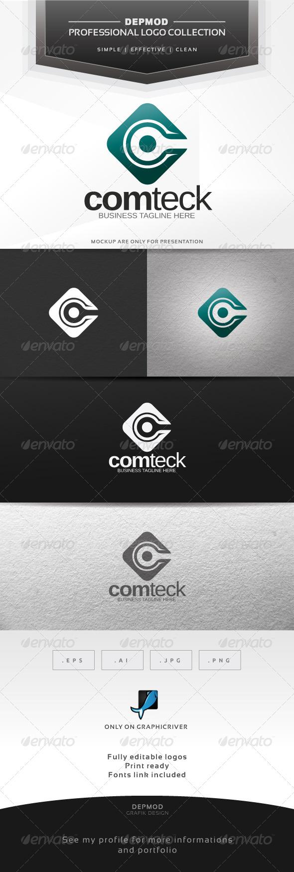 GraphicRiver Comteck Logo 6317081