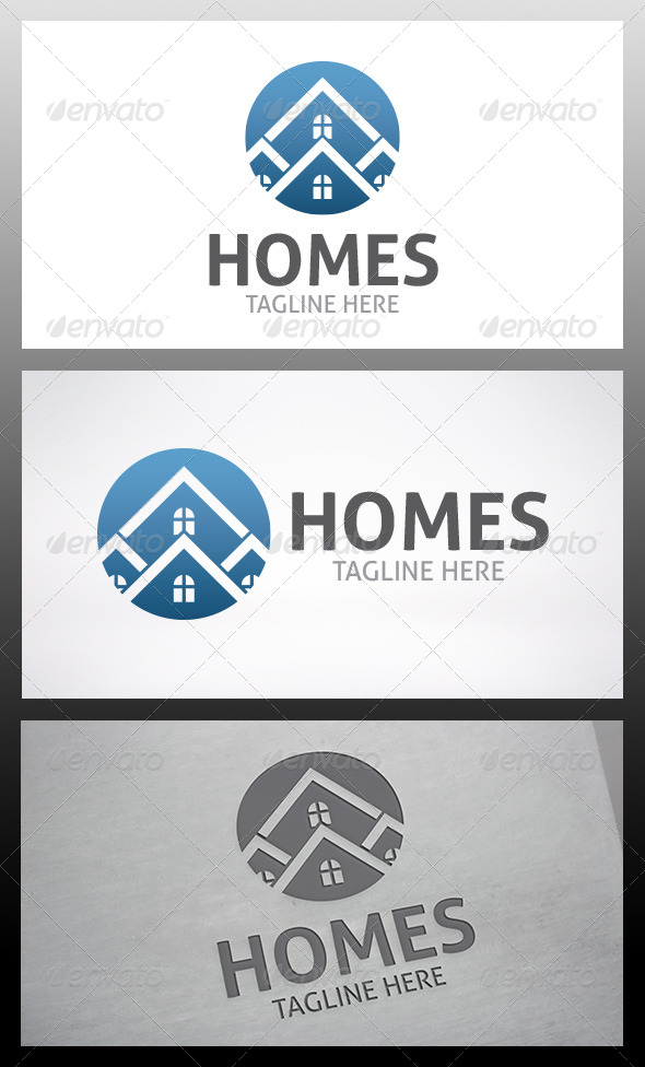 GraphicRiver Homes Logo 6317084