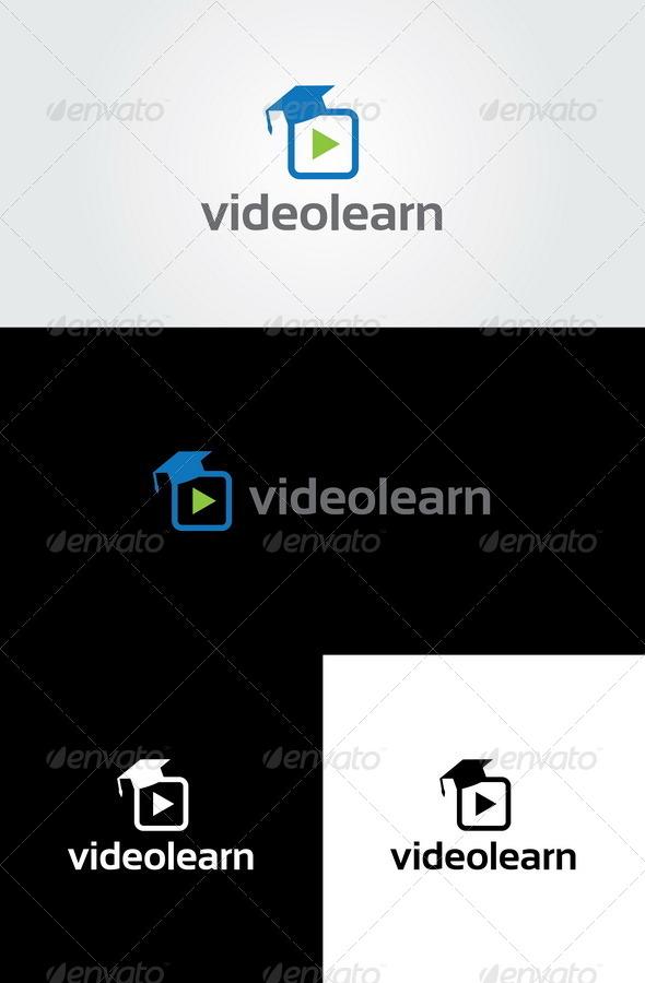 GraphicRiver Video Learn Logo Template 6317094