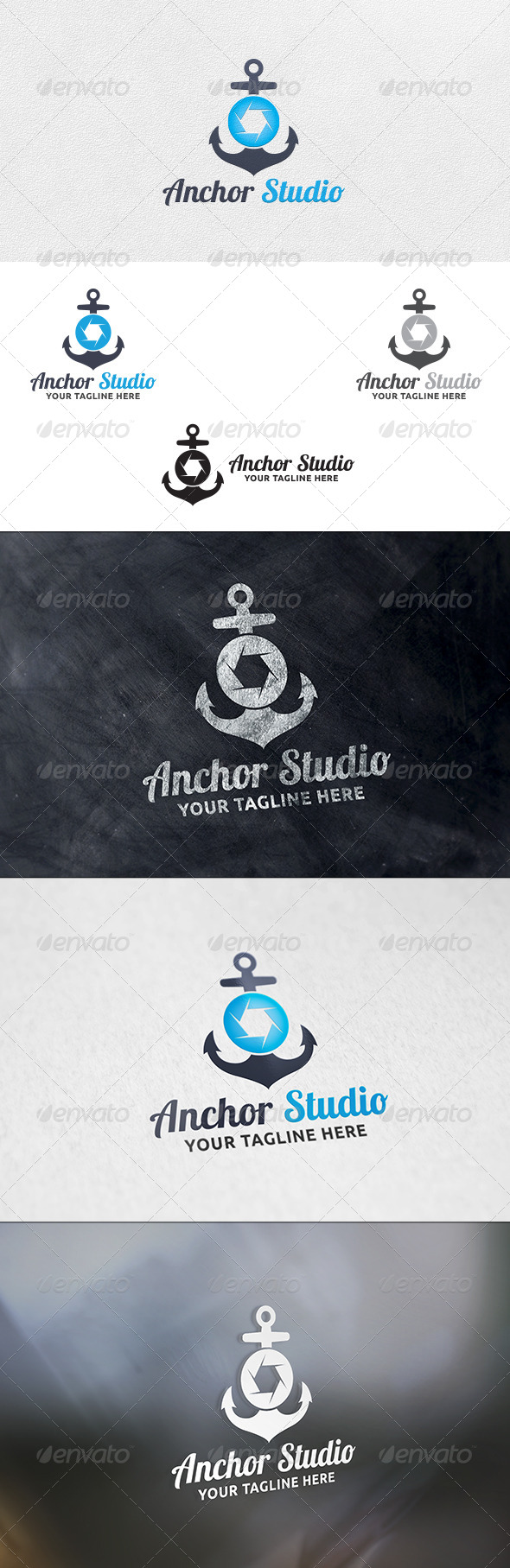 GraphicRiver Anchor Studio Logo Template 6317153