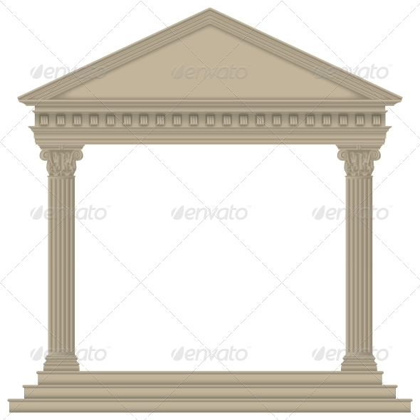 GraphicRiver Roman Greek Temple 6317228