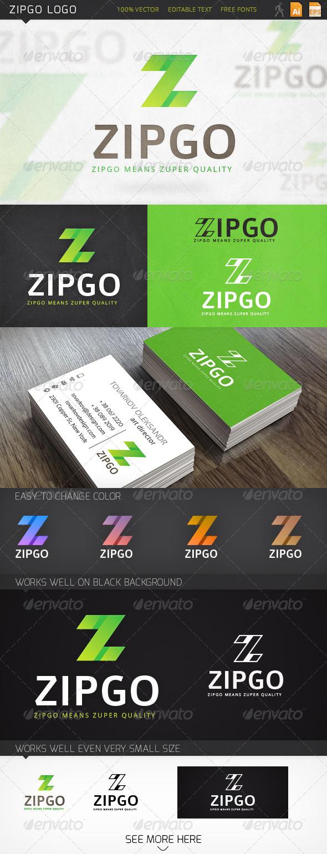 GraphicRiver Zipgo Logo 6317631
