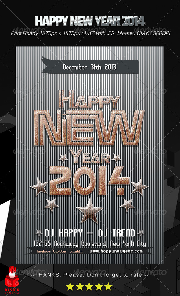 GraphicRiver Happy New Year 2014 6276103