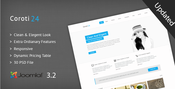 Coroti-Corporate Responsive Joomla 3.2 Template