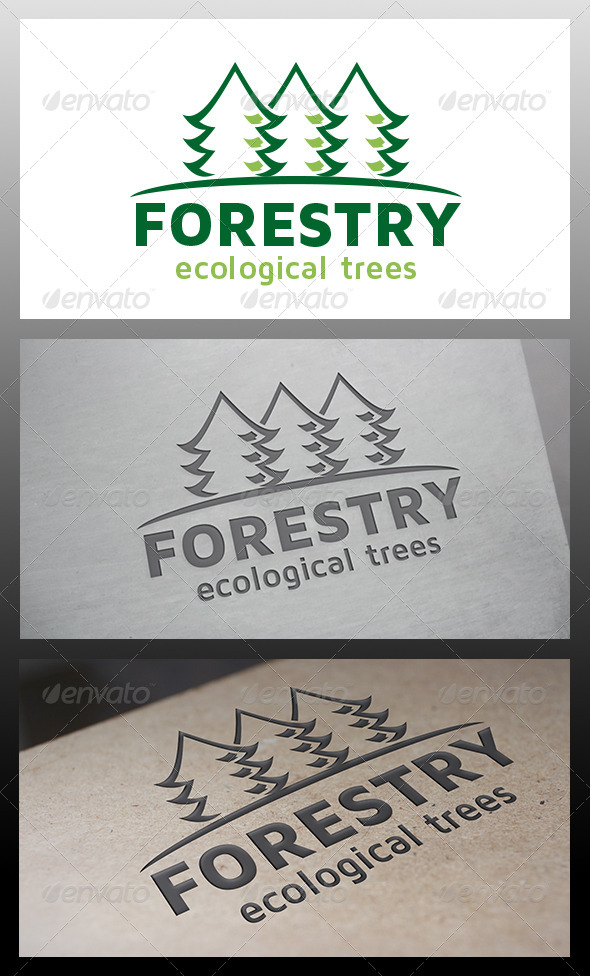 GraphicRiver Forest Logo 6317923