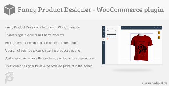 CodeCanyon Fancy Product Designer WooCommerce plugin 6318393