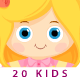 Children Around the World & Frame - ActiveDen Item for Sale