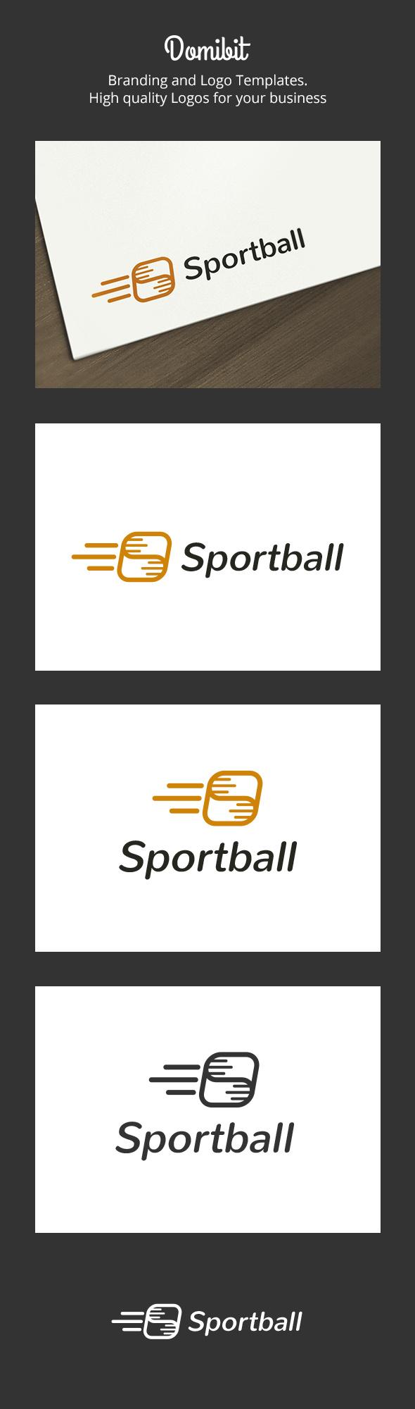GraphicRiver Sport Ball Logo 6318878